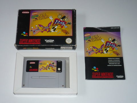 Photo du jeu Aaahh!! Real Monsters sur Super Nintendo