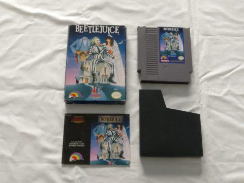 Photo du jeu Beetlejuice sur Nintendo Entertainment System (NES).