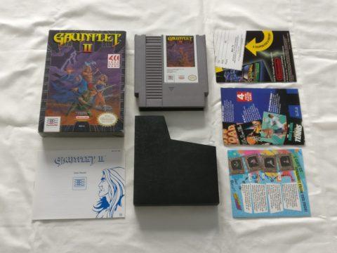 Photo du jeu Gauntlet 2 sur Nintendo Entertainment System (NES).