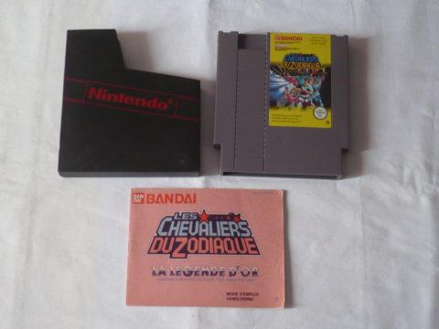 Photo du jeu Les Chevaliers du Zodiaque sur Nintendo Entertainment System (NES).