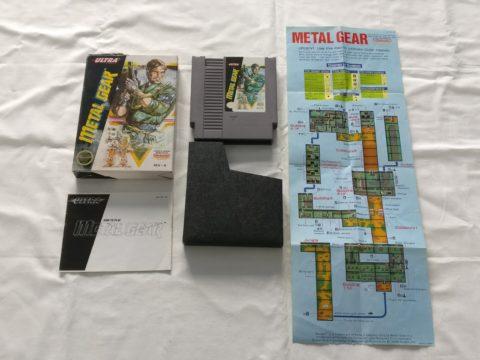 Photo du jeu Metal Gear sur Nintendo Entertainment System (NES).