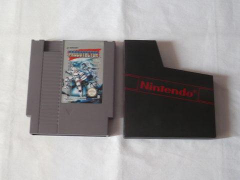Photo du jeu Probotector sur Nintendo Entertainment System (NES).