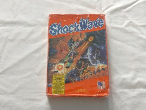 Photo du jeu Shockwave sur Nintendo Entertainment System (NES).