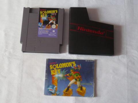 Photo du jeu Solomon's Key sur Nintendo Entertainment System (NES).