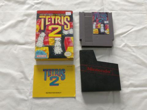 Photo du jeu Tetris 2 sur Nintendo Entertainment System (NES).