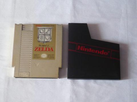 Photo du jeu The Legend Of Zelda sur Nintendo Entertainment System (NES).