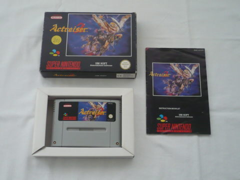 Photo du jeu Actraiser 2 sur Super Nintendo.