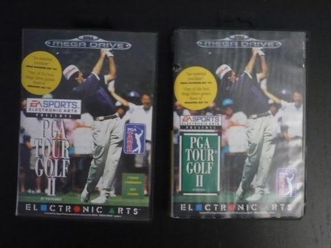 Comparaison des deux versions de PGA Tour Golf II sur Megadrive.