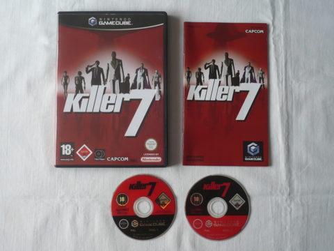 Photo du jeu Killer 7 sur Gamecube.