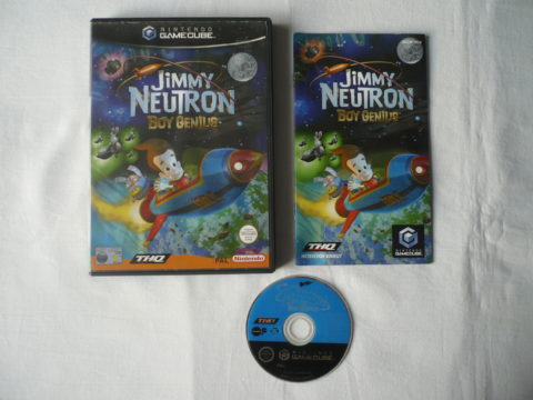 Photo du jeu Jimmy Neutron: Boy Genius sur GameCube