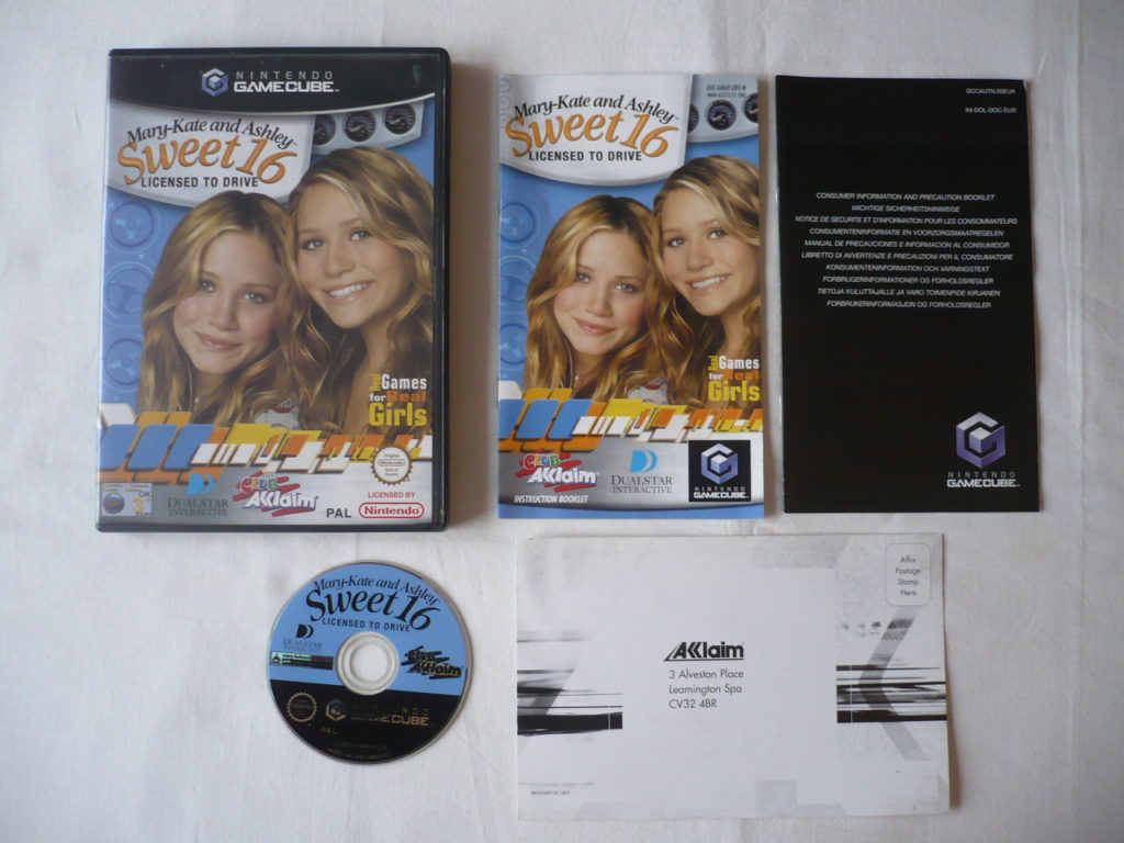 Mary-Kate and Ashley Sweet 16: Licensed to Drive sur GameCube