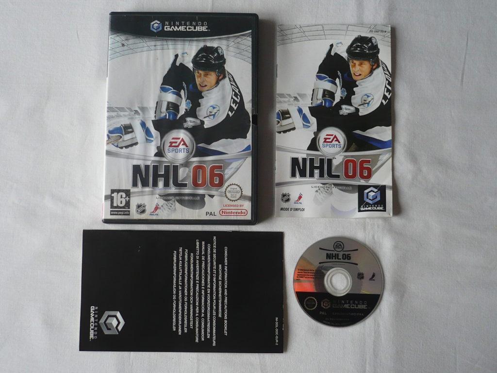 NHL 06 sur GameCube