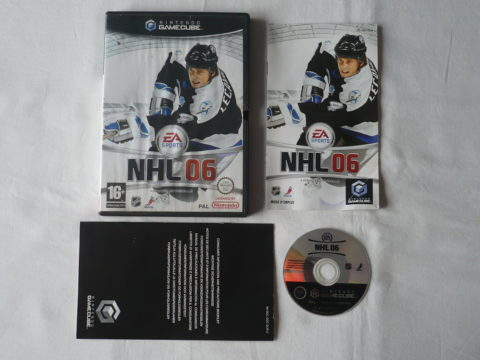 Photo du jeu NHL 06 sur GameCube