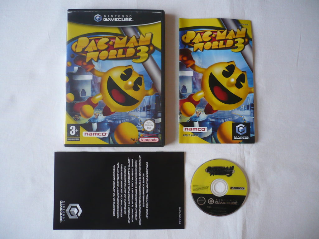 Pac-Man World 3 sur GameCube