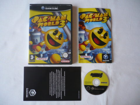 Photo du jeu Pac-Man World 3 sur GameCube