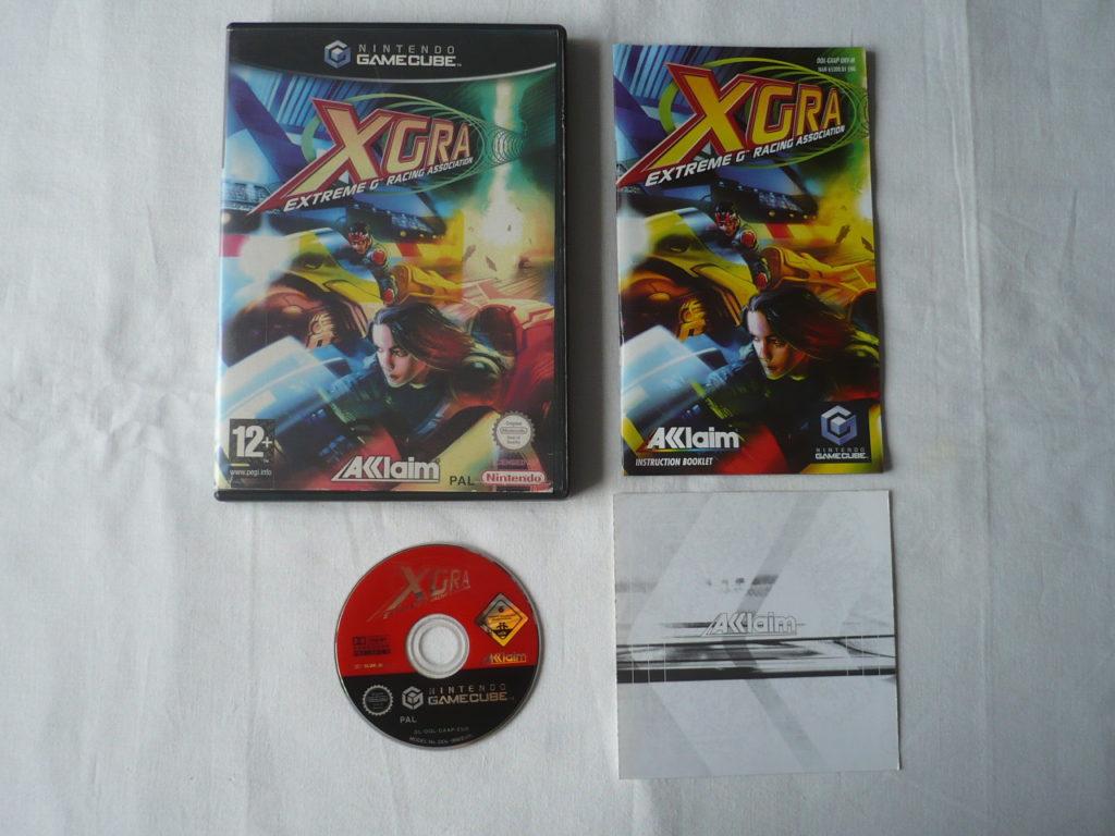 XGRA: Extreme-G Racing Association sur GameCube