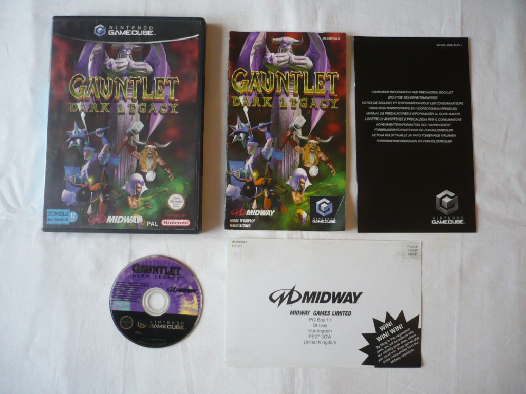 Gauntlet: Dark Legacy sur GameCube
