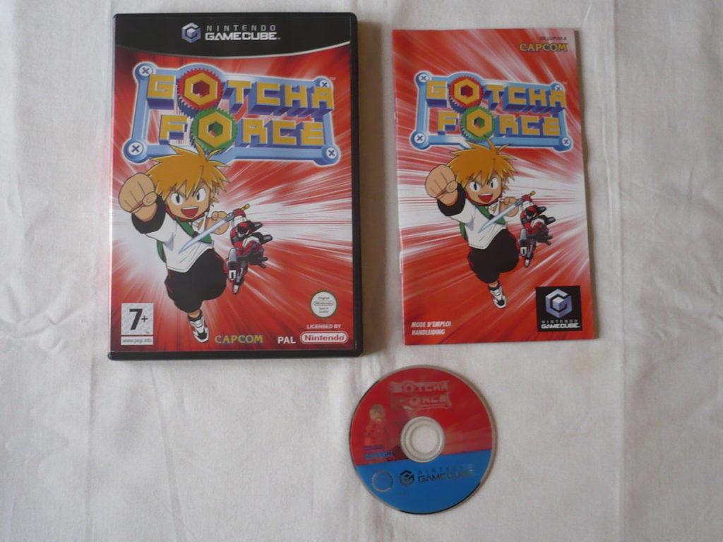 Gotcha Force sur GameCube