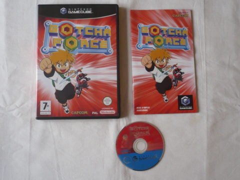Photo du jeu Gotcha Force sur GameCube