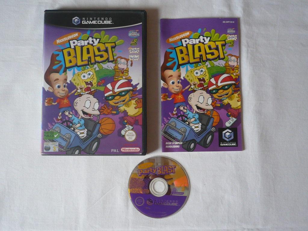 Nickelodeon Party Blast sur GameCube