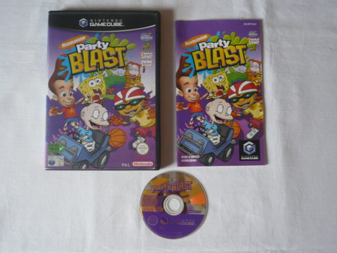 Photo du jeu Nickelodeon Party Blast sur GameCube