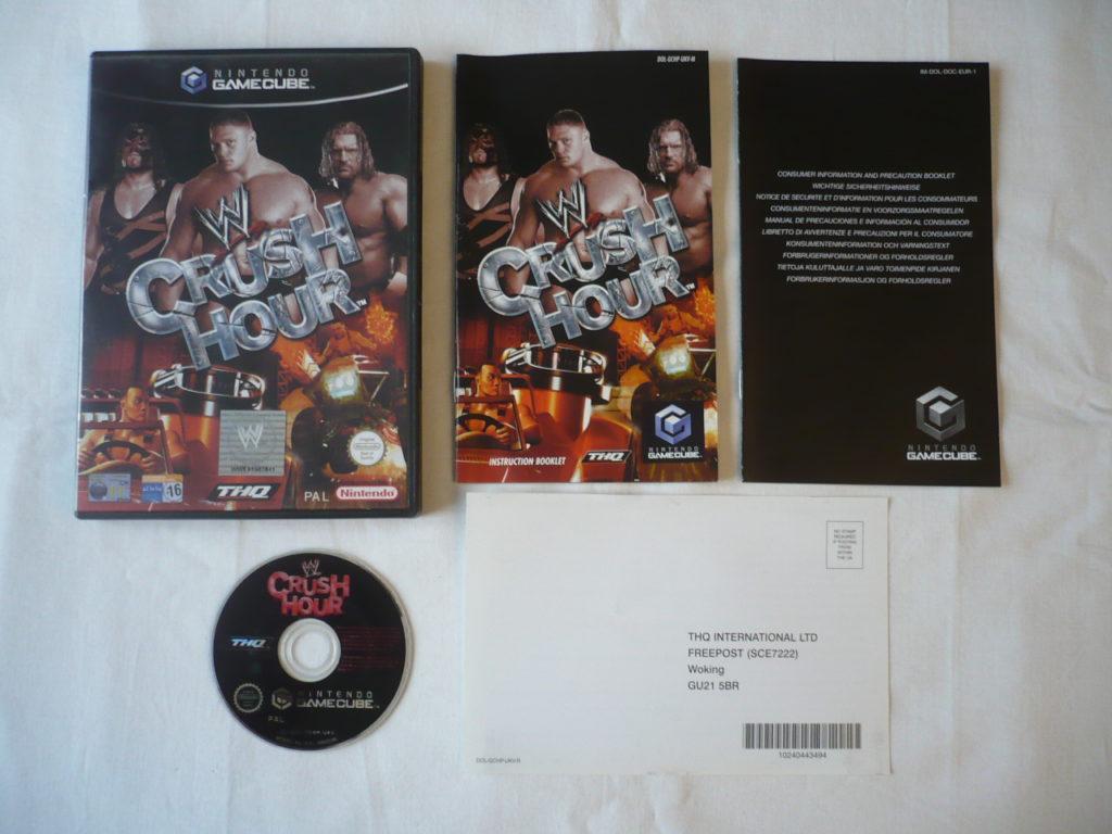 WWE Crush Hour sur GameCube