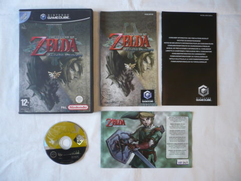 Photo de The Legend Of Zelda: Twilight Princess sur GameCube en version française.