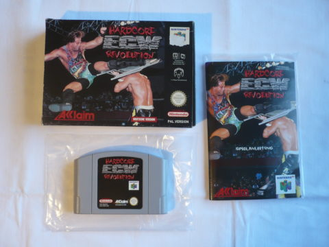 Photo du jeu ECW Hardcore Revolution sur Nintendo 64 (version allemande)