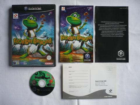 Photo du jeu Frogger Beyond sur GameCube PAL.