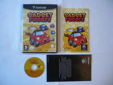Photo du jeu Gadget Racers sur GameCube.