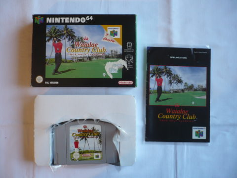 Photo du jeu Waialae Country Club: True Golf Classics sur Nintendo 64 (version allemande)