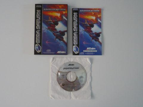 Photo du jeu Galactic Attack sur Saturn.