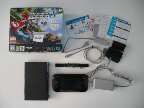 Photo de la console Wii U Mario Kart 8 Premium Pak.