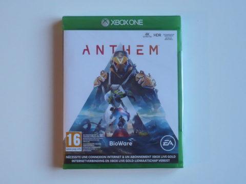 Photo du jeu Anthem sur Xbox One.