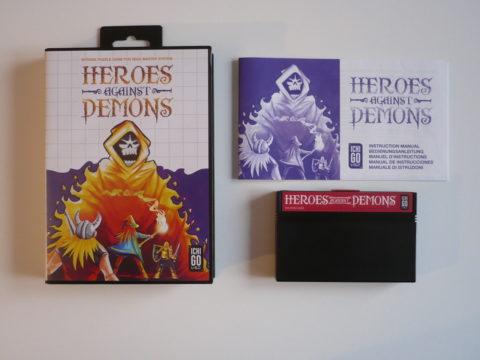 Photo du jeu Heroes Against Demons sur Master System.