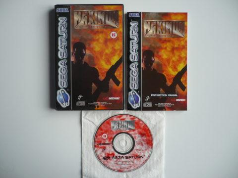 Photo du jeu Maximum Force sur Saturn PAL.