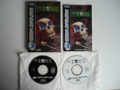 Photo du jeu Mr. Bones sur Saturn PAL