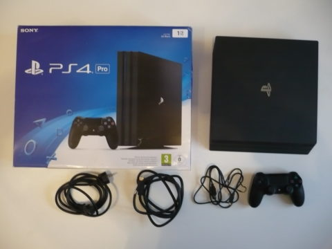 Photo de la PlayStation 4 Pro.