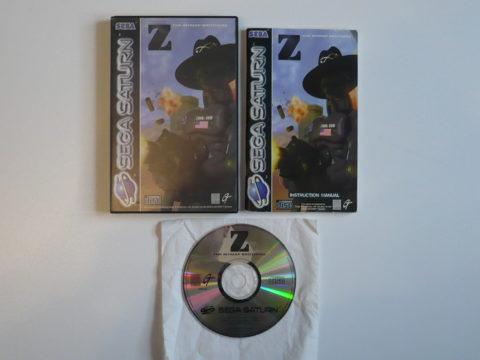 Photo du jeu Z sur Saturn PAL.
