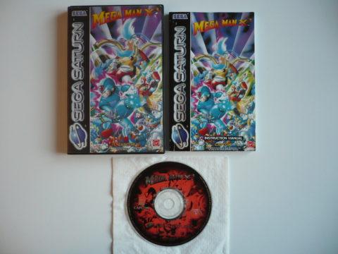 Megaman X3 sur Saturn