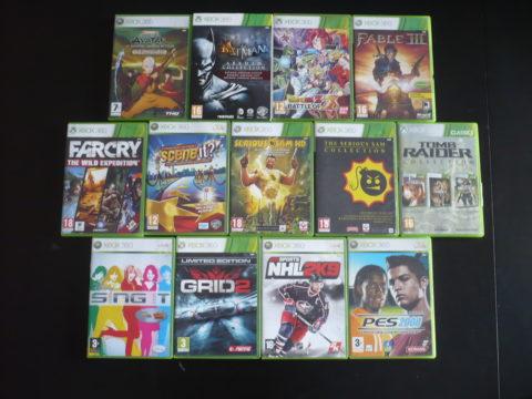 Lot de jeux Xbox 360 du mois de mars 2021