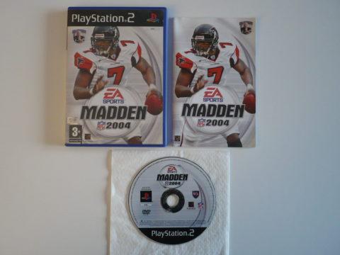 Madden NFL 2004 sur PlayStation 2