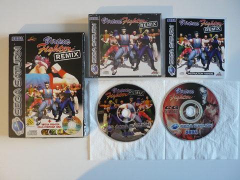 Virtua Fighter Remix sur Saturn PAL
