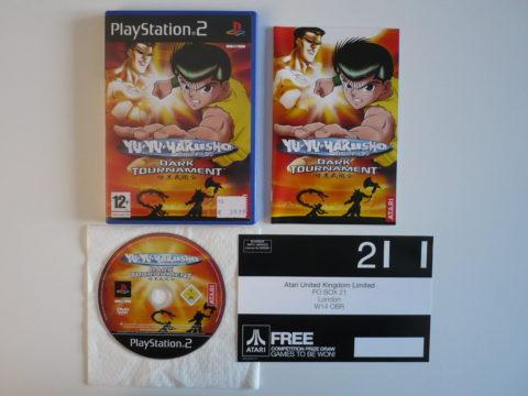 Yu Yu Hakusho: Dark Tournament sur PlayStation 2
