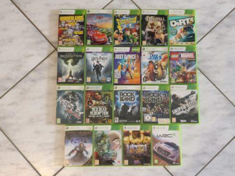 Premier lot de jeux Xbox 360 du mois de mai 2021
