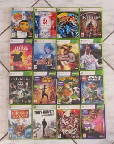 Deuxième lot de jeux Xbox 360 du mois de mai 2021
