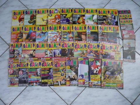 Série complète des magazines GamePlay 128.