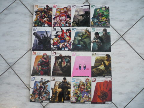 Des numéros du magazine IG Mag