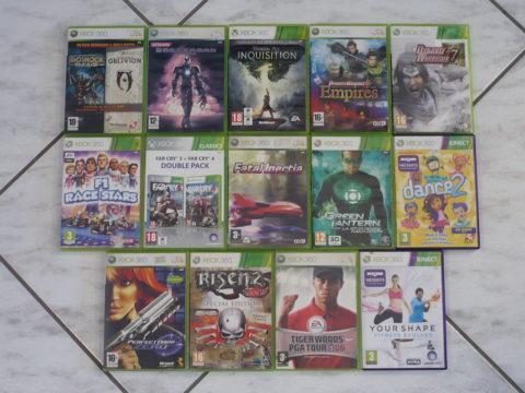 Quatorze jeux supplémentaires sur Xbox 360